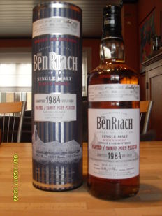 Benriach 1984 - Peated / Tawny Port Finish - 25 years old