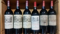 1993 Chateau Saint Lô Grand Cru 3 bottles - 1998 Chateau Barde Haut Grand Cru 2 bottles - 1992 Chateau Coutet Grand cru - total of 6 bottles