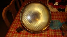 Idealux - Copper car light - diameter 26 cm - probably Citroen or another French brand
