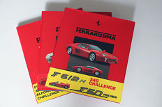 Lot of 3 Ferrarissima books