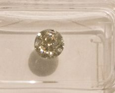 1.03 carat H  VVS1 Round Brilliant Natural Diamond Comes With Sealed IGL Certificate