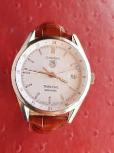 Tag Heuer Carrera Twin-Time Ref. WV2116 - men's watch