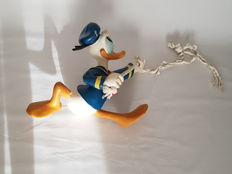 Disney, Walt - Large figure - Donald Duck hanging from a rope (c. 1980)