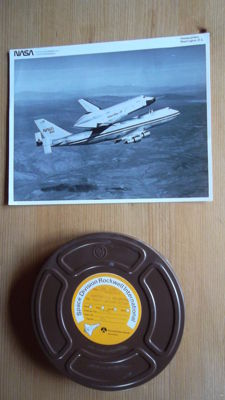 Movie 16 mm: First test flight shuttle for Boeing (1977)