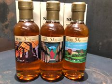 Miyagikyo Nikka from the Barrel Gift Pack 3 x 180ml Limited Edition