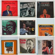 Huge Lot of Jazz Albums and Boxes, Louis Armstrong, Coltrane, Chic Corea, Glen Miller