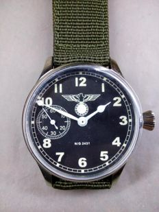 Longines mariage watch - Luftwaffe military style - 1940s