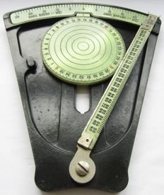 Navigating tool with a phosphor scale - USSR 1957.