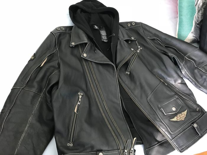 Harley Davidson leather jacket 3 in 1