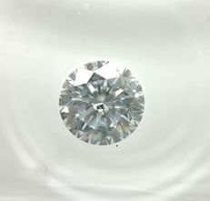 0.76 ct Round cut diamond E SI2   -No Reserve
