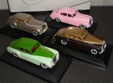 Verem - Scale 1/43 - Lot with 4 models: 3 Bentley and 1 Rolls-Royce
