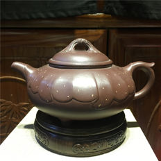 "Yixing teapots, maker name is ""Song Tian Qing ' and ""Qin Yong Qiang "" - China - 21st century"