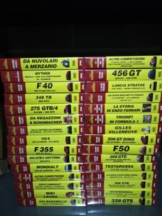 Ferrari - Complete collection of 30 VHS 'Il Mito Ferrari' sealed