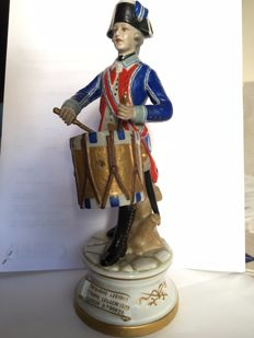 Italian Porcelain Figure of Drummer