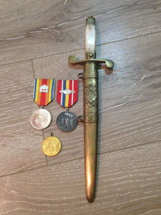 Officer Dagger - Romanian Communist Army officer's dagger - Ceausescu 1960
