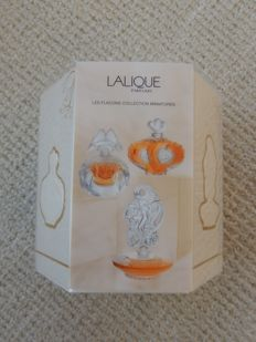 Lalique - 3 mini perfume bottles