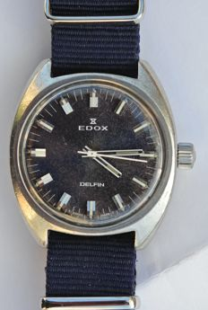 Edox Delfin - Men´s watch - 1970s