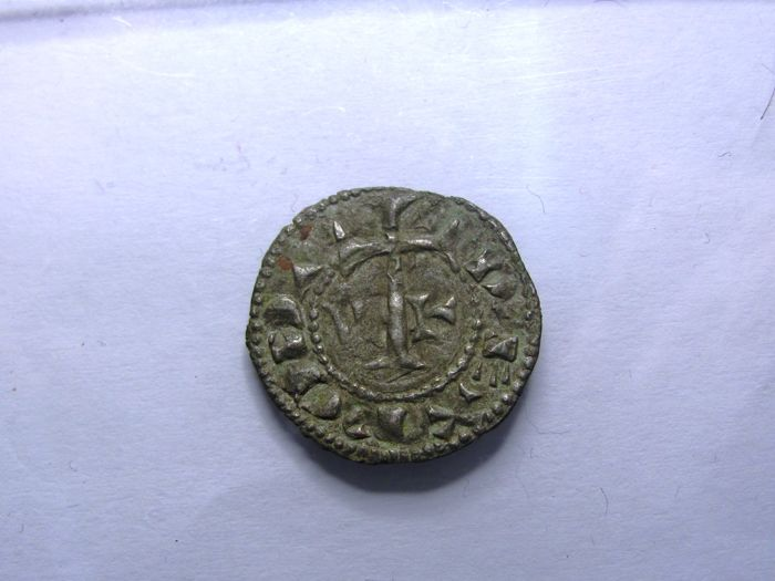 Portugal Monarchy – D. Afonso Henriques (1128-1185) – Hexalpha Dinheiro – Star of David – Extremely Rare