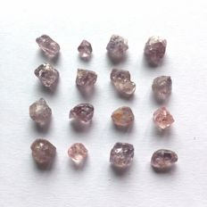 Lot of Natural Spinel Crystals - 27.25 ct (16)