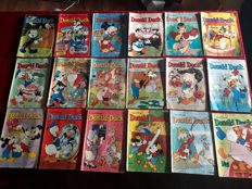 Donald Duck weekbald - 121 issues - 121xsc - 1st edition (1978/1987)