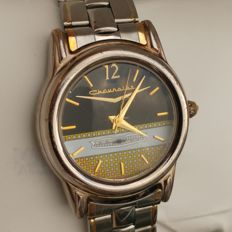 Chevrolet vintage men's wristwatch 1970s