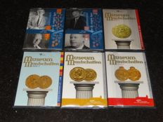The Netherlands - Sets with Euro coins 'Holland Coinfair' 2008 to 2013 (6 different)