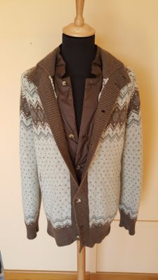 Brunello Cucinelli - cashmere cardigan with vest - ***NO RESERVE***
