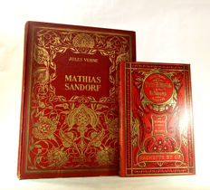 Jules Verne - Le Tour du monde en 80 jours & Mathias Sandorf - 2 volumes - 1916 / 1939