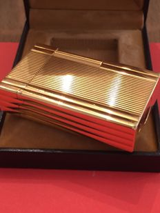 Gold plated Dupont lighter, 1980s
