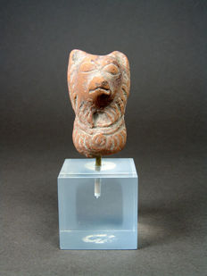 Egyptian Terracotta Sothic Dog – H. 5.4 cm