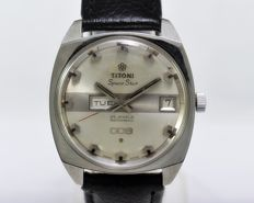 Titoni Space Star 009 25 Jewels Rotomatic Automatic Men's Vintage Wristwatch - circa 1970s
