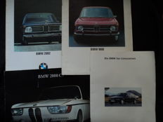 4 original BMW brochures