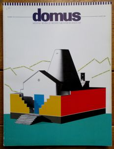 Domus - Monthly review of Architecture - Interiors - Design - Art - 13 issues - 1989/90