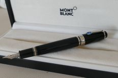 Montblanc Boheme Montblanc Platinum twist fountain pen Bohème Bleu retail price: 795€