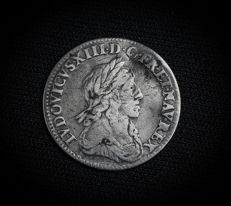 France - Louis XIII (1610-1643) - 1/12 Ecu 1642 A (Paris) - Argent