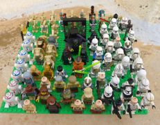 87 mini figures - Star Wars