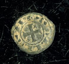 Spain - Alfonso I 'the Battler' (1109-1126) Kin of Aragon and Navarra - Fleece obol of Toledo