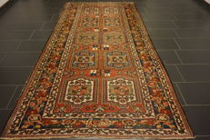Beautiful antique fields BAKHTIAR handwoven Persian carpet, Bakhtiari, plant-based colours, made in Iran, 170 x 310 cm