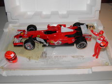 Hot Wheels - Scale 1/18 - Ferrari 248F1 Sao Paulo Brazil 22-10-2006 - M Schumacher