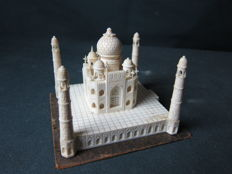 Ivory statue of the Taj Mahal - India - approx. 1920