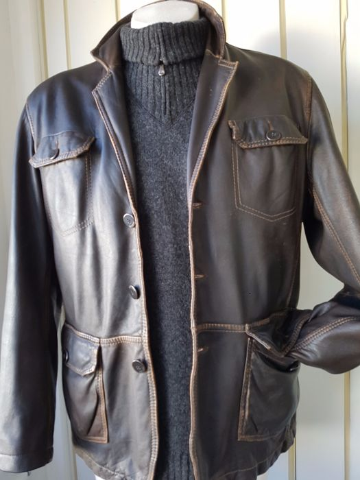 Arma - Coat, Leather jacket, Sheepskin