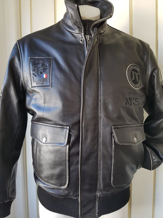 Nickelson - Bomber, Coat, Leather jacket
