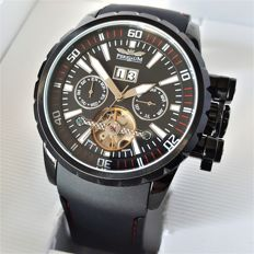 Perigáum - Limited Edition # 2 German Einsatz Open Heart Automatic 35 Jewels (Men's) - 2017, New, Complete in Box