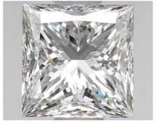 0.52 ct Princess Cut Diamond DIF IGI Serial# 2329 -orginal-image-10X