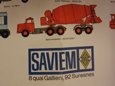 SAVIEM - brochures en old factory photos - from 1961 onward