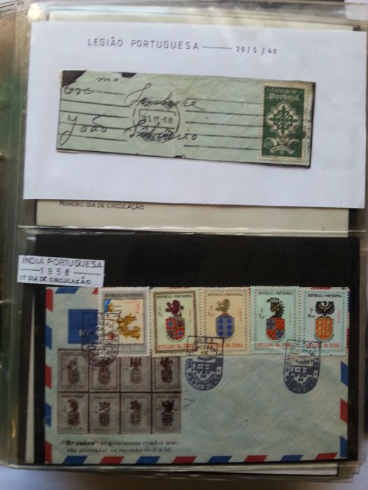 Portugal 1967/1980 – Collection of 150 first day covers, in album