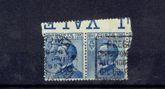 Kingdom of Italy - Michette series with and without surcharge. Bulk lot for study.