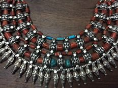 Ethnic necklace from Ladakh - India