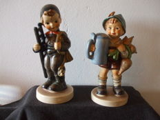 Two Hummel Figurines: For Father and Chimney Sweep