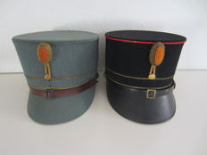 Two kepis Army Netherlands ca. 1940
